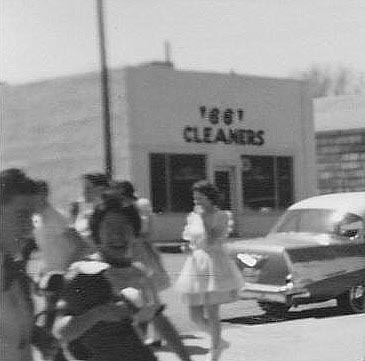 66 Cleaners, Phillips TX, 1958 Kids' Day